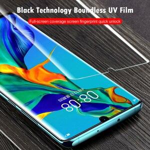 Image 4 - Tam kapak temperli cam için Huawei P40 P30 Lite P20 Pro P akıllı 2019 ekran koruyucu koruyucu cam için Huawei mate 30 20