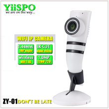 YiiSPO 180 degree 1.44mm wide angle HD 720P Mini Wifi IP Camera Wireless P2P CCTV Security Camera Home CMOS IR cut night vision