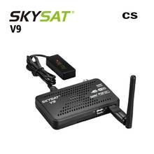 Vente chaude SKYSAT V9 mini récepteur de Satelite support DVB S2 Cccams Cline Newcamd Satellite récepteur Box TV PK Freesat V7(China)
