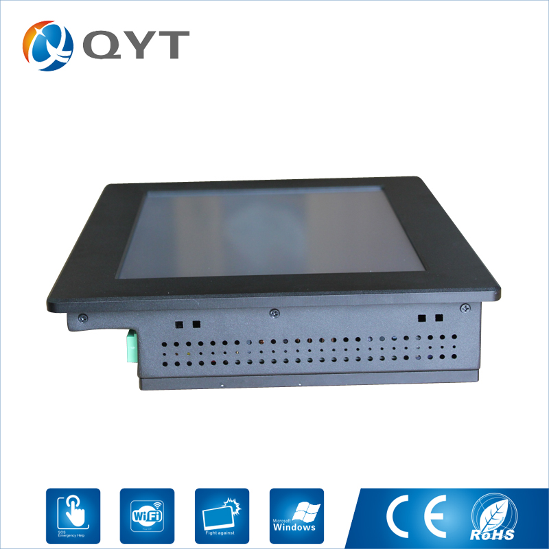 Industrial Computer with CPU Intel N2800 1.86GHz 4GB RAM Touch Screen 12 inch HDMI 2*RS232 dual RJ-45 the Resolution 1280x800