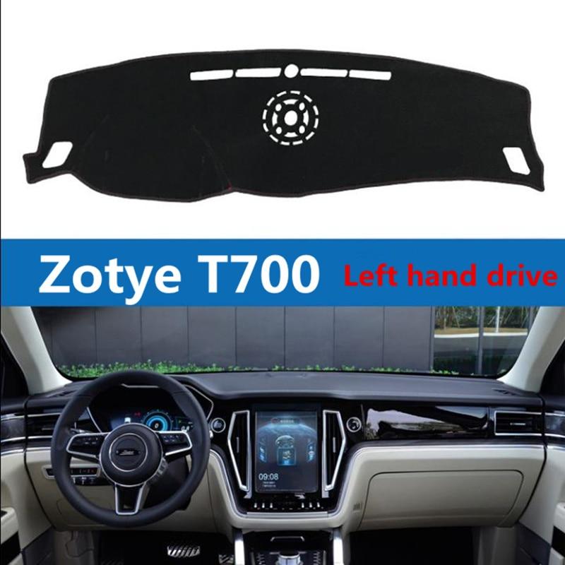 TAIJS Left Hand Drive Car Dashboard Cover Mat For Zotye