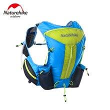 Naturehike Ultralight Férfiak Nők Futás Hátizsákok Hátizsákok Close Fit Hiking Tactical Backpack Sporttáska 12L NH70B067-B