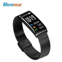 Intelligente uhren Microwear X3 armband armband bluetooth herzfrequenz blutdruck nachricht erinnerung Schlaf-monitor android ios