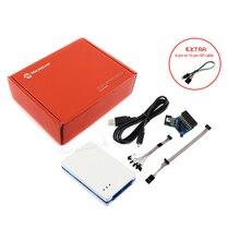 الأصلي Atmel سام و AVR اتميل الجليد مبرمج USB المصحح المحاكي يدعم JTAG ، إدارة الرعاية الاجتماعية ، PDI ، TPI ، aWire ، SPI ، التصحيح سلك