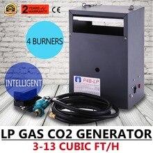 Высокогорный гидропонный парниковый СО2 4 горелки генератор LP газ (4 горелки)