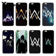 Yinuoda Alan Walker DJ Faded Luxury Hybrid phone case For iPhone X XS XR XsMax 8plus 6 6s 7 7plus Mobilecover(China)