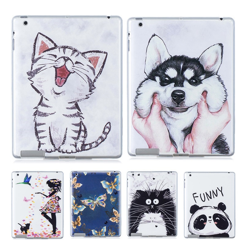 Soft-Case Back-Cover Tablet Galaxy Tab SM-T280 T285 Samsung 7inch TPU For Kawaii Cat