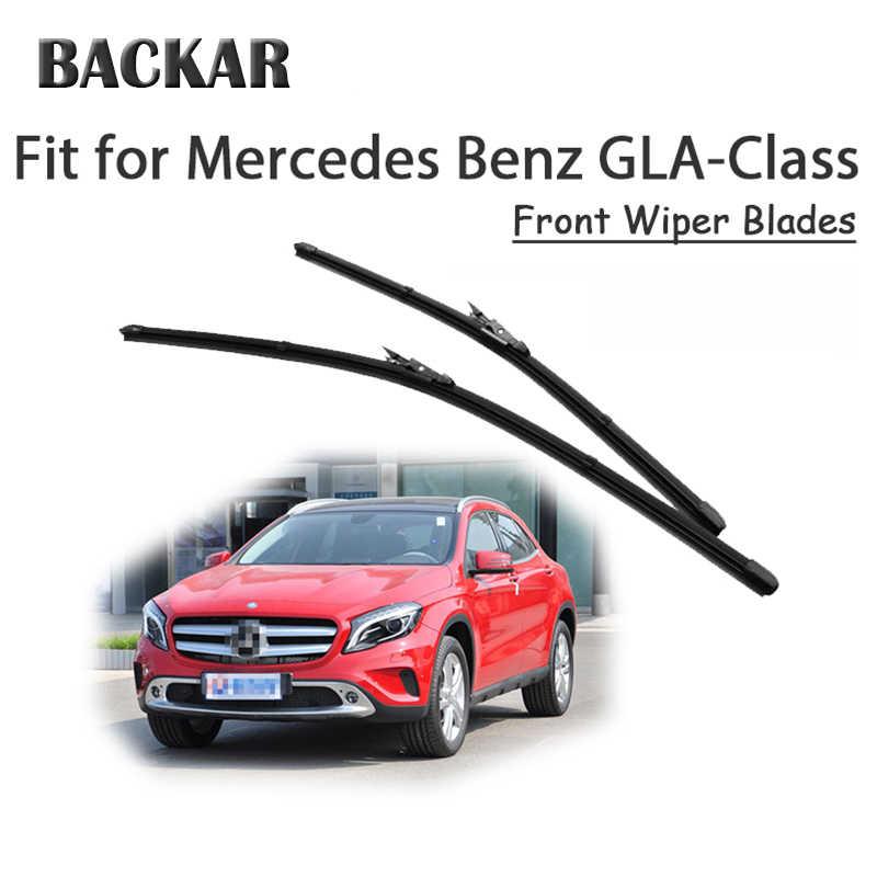 BACKAR 2pcs Front Windshield Wiper Blades For Mercedes Benz GLA Class X156  GLA 180 200 250 45 Accessories