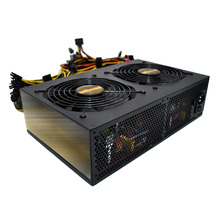 3450W Mute ATX 12V Mining Power Supply For 12 GPU Rig Ethereum Coin Miner New EM88