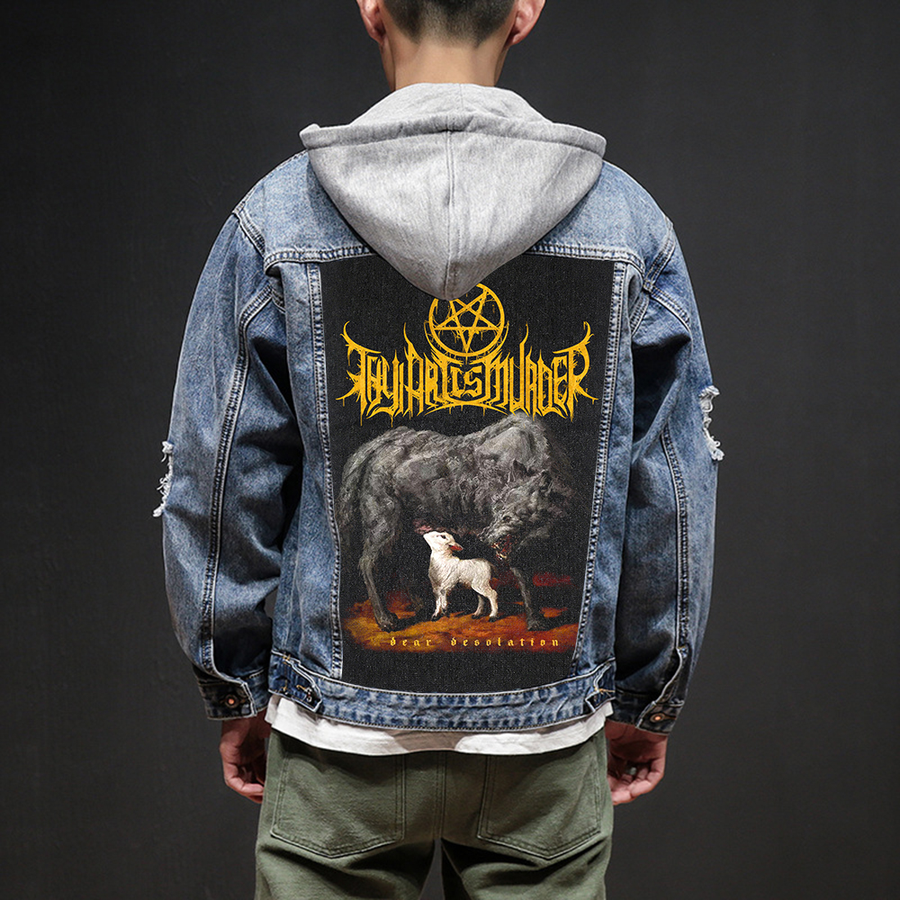 Bloodhoof Store Thy Art Is Murder Rock And Roll Death Heavy Hardcore Punk Style Patch Designs Denim Jeans Jackets And Coats