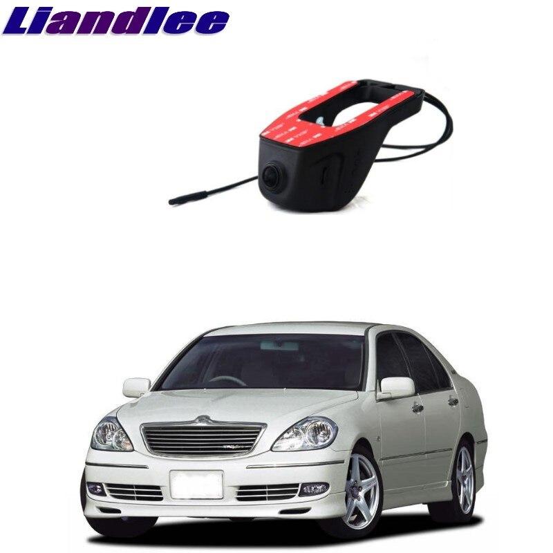 Liandlee pour Toyota Brevis 2001 ~ 2007 enregistrement de route de voiture WiFi DVR caméra de tableau de bord enregistreur vidéo de conduite