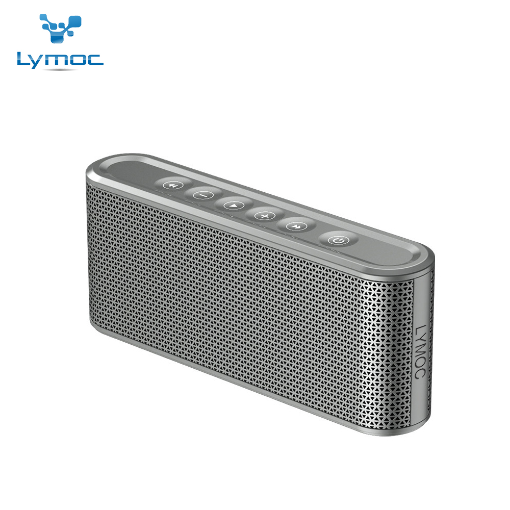 все цены на LYMOC Phone Bluetooth Speakers Wireless Stereo Subwoofer Touch Control Music Speaker 3D Hi-Fi Sound Box Power Bank for iPhone онлайн