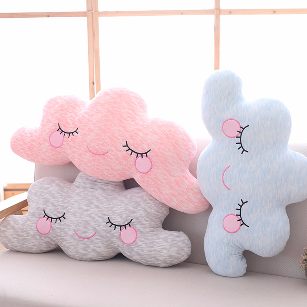 1pc 65cm Lovely Sky Series Pillow Kawaii Cloud Plush Toys Stuffed Soft Cushion Nice Sofa Pillow Kawaii Christmas Gift For Girl