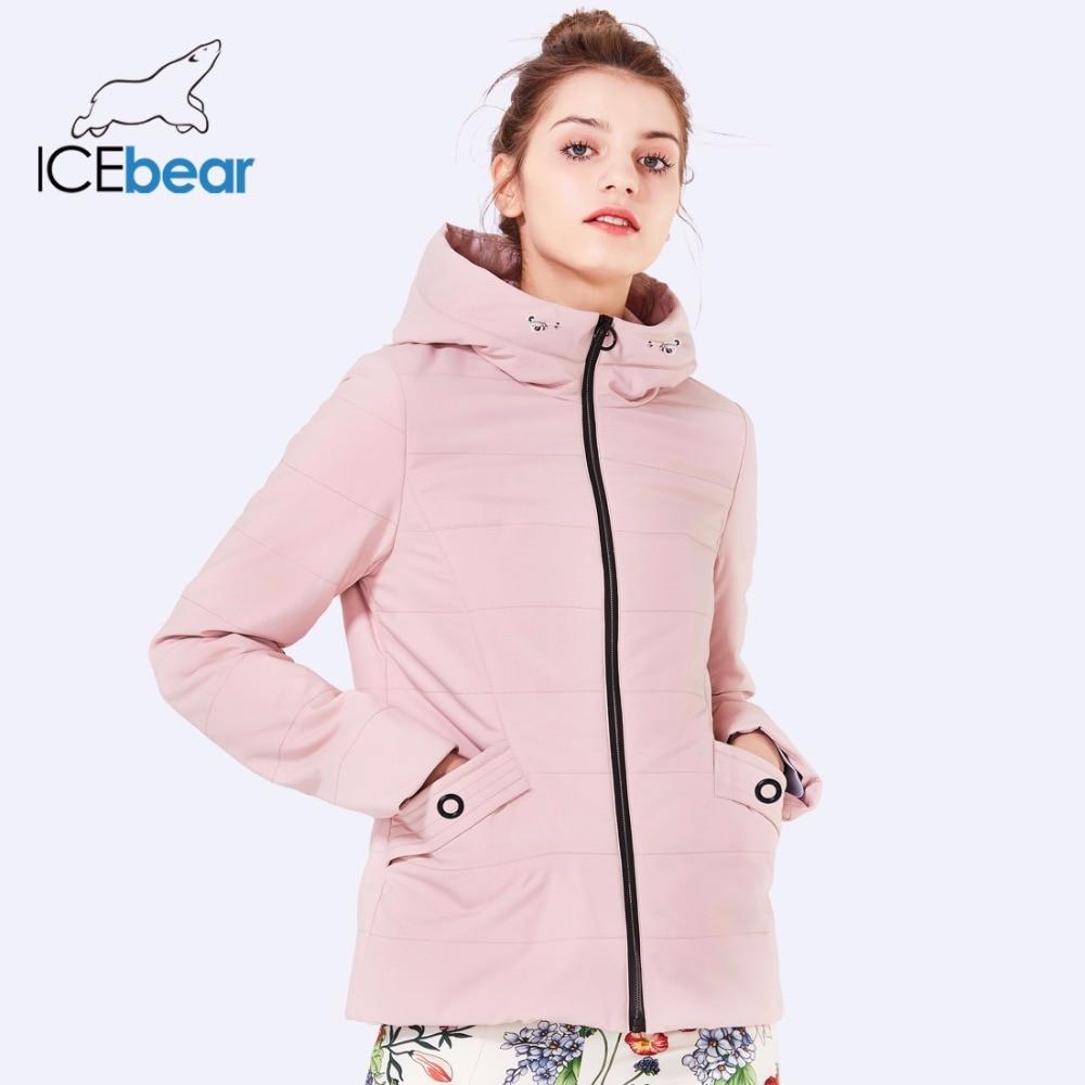 fedf5a062dcc4e Termica Pink Cyan Sottile Di Giacca White Black Delle Donne Icebear  Gwc18126d Novità Imbottito Cotone Donna ...