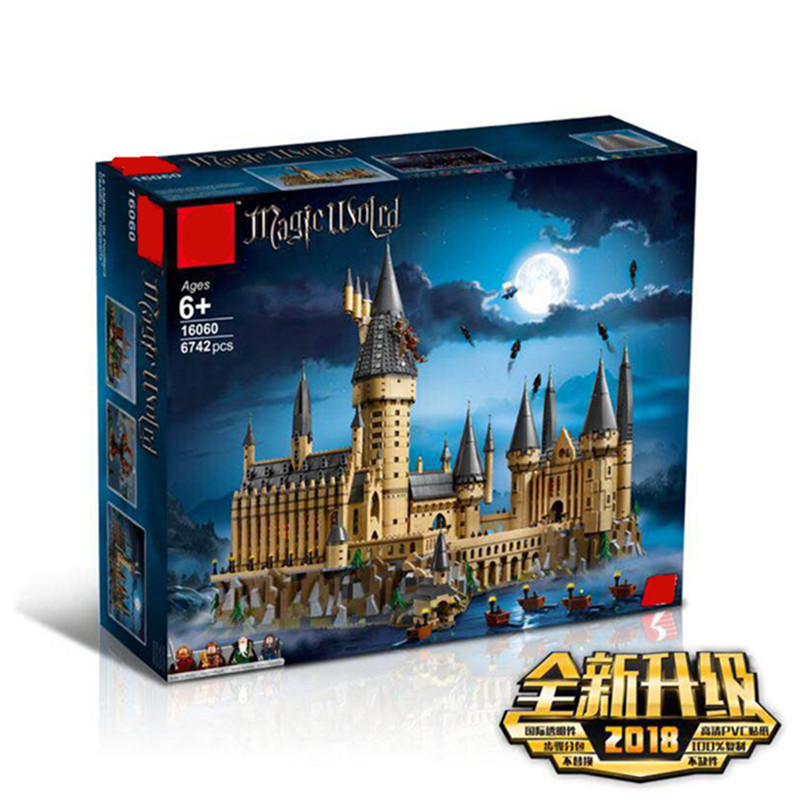 Harry Potter Magic Hogwarts Castle Compatible With Legoingly Harry Potter 71043 Building Blocks Bricks Kid Christmas DIY Toy 11B
