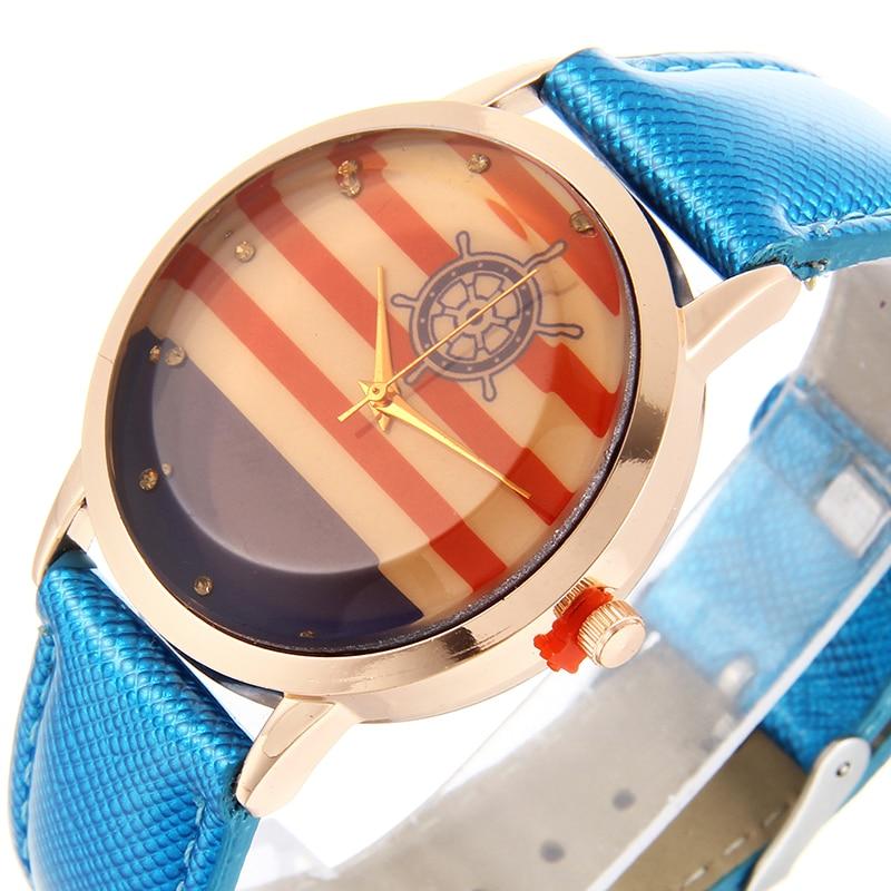 Luxury Brand simple watch Fashion Womens Watches Ladies Leather Wristwatch Rose Gold Female dress Clock hours Montre kol saati
