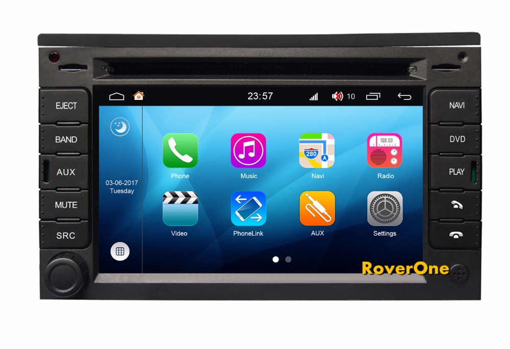RoverOne Android 8.0 Car Multimedia Player For Citroen C2 C3 Radio Stereo DVD GPS Navigation Bluetooth Media Music PhoneLink