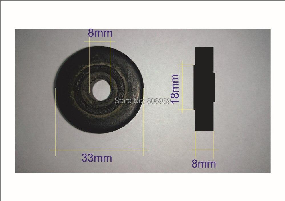 400 шт резиновые ролики для стеклянной машины