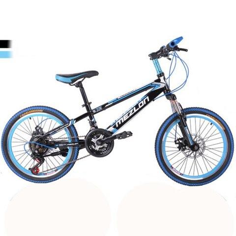 Bicicleta de Montanha Freios de Disco Polegadas e Velocidade Mecânicos e Dianteiros com 21 Infantil