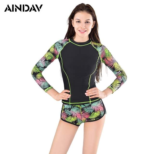 93c8aadc9b7a9 Surf Rashguard Women Protection Swimming Long Sleeve Swimsuit For Women  Thermal Swimwear Black Surf-clothing