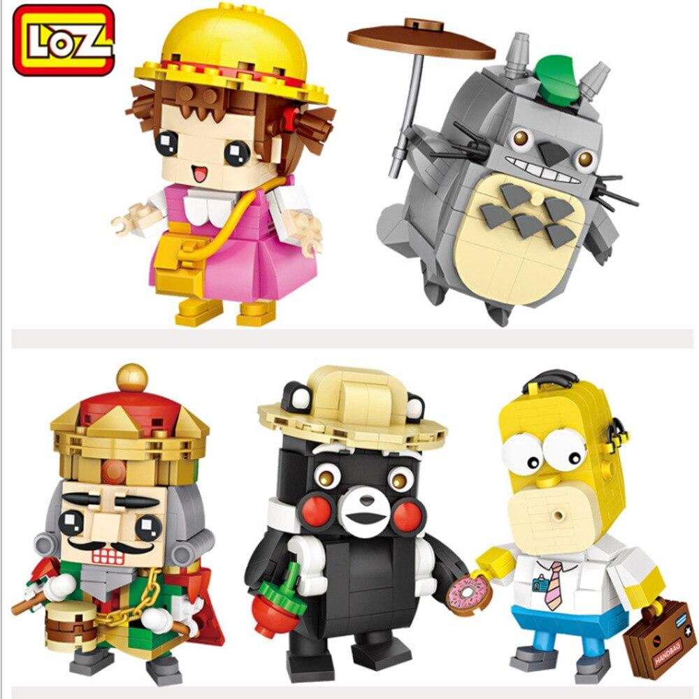 LOZ Mini bloques Qute ladrillos dibujos animados modelo Kumamon juguete educativo pequeño Anime brinquedos niños juguetes niñas regalos 1463 ¡Anime Tokyo Ghoul 22CM Kaneki Ken despertado Ver! Figura de acción de PVC modelo coleccionable regalo de Navidad de juguete de Brinquedos