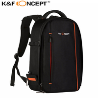 K F Concept Waterproof DSLR SLR Camera Backpack Rucksack Bag Case Black For Canon For Nikon