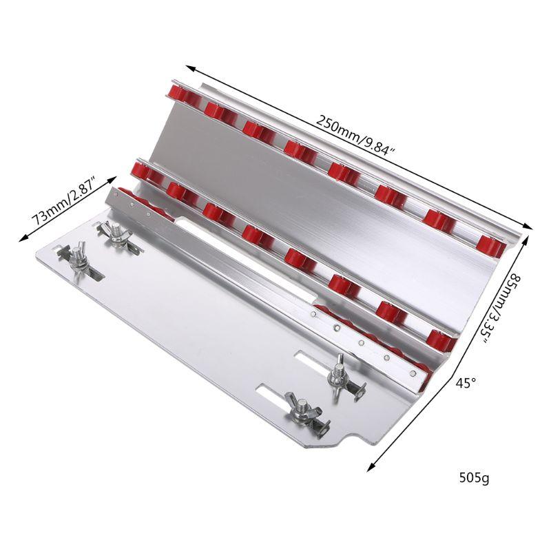 New 45 Degree Manual Tile Cutter Cutting Machine Home Ceramic Chamfer Chamfering Machine Aluminum Alloy