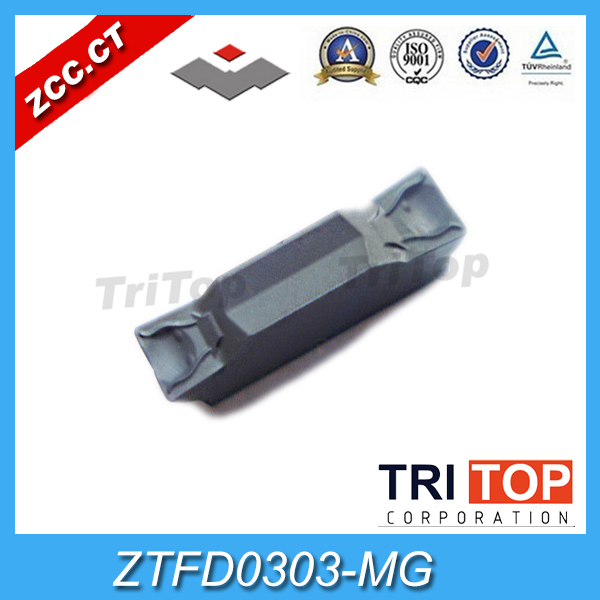 10pcs/box ZCCCT Tungsten Carbide parting tools ZTFD0303-MG YBG302 YBG202 YBG205 ZTFD0303 MG GROOVING inserts turning tools free shipping high quality cnc lathe cutting tools surface grooving tool holder qffd2525l17 48h for carbide inserts ztfd0303 mg