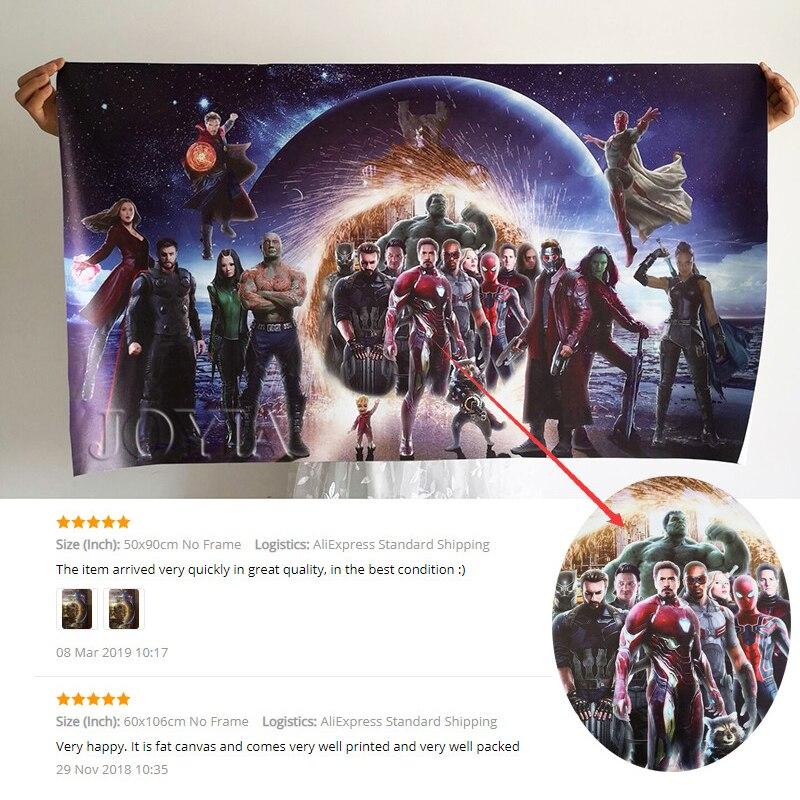 Плакат Мстителей, Супер Герои комиксов, фильм, шелковые принты, настенная художественная картина, домашний декор, Марвел, супергерой, шелковая ткань, живопись