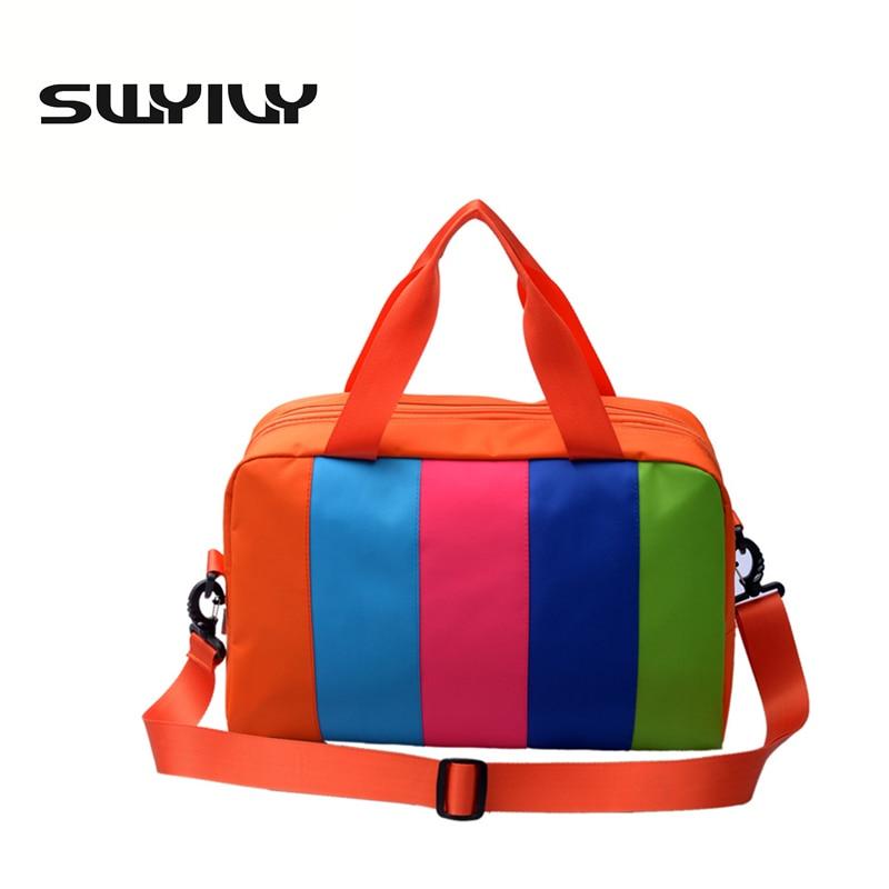 Professional Unisex Swimming Bag Combo Dry Wet Handbag Big Capacity Children Beach  Swimsuit Storage Bag Miced Color  Sports Bag