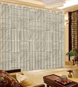 Simple 3D curtains customize modern curtains for living room bedroom decoration 2019 The New