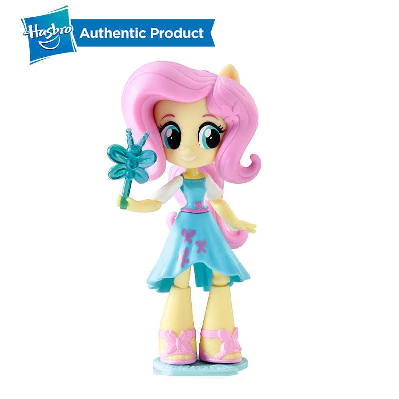Hasbro My Little Pony Equestria Meninas 4.5-Polegada 11cm Crepúsculo Mini-Bonecas Caráter Action Figure Model Collection boneca Para A Menina