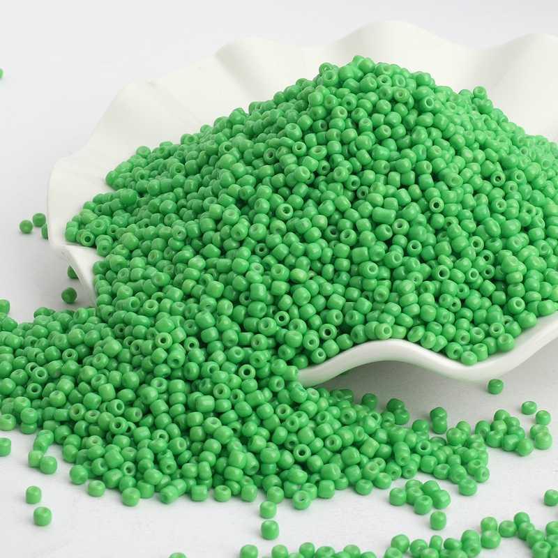 500 Pcs/lot 3 Mm Warna Solid Republik Kaca Benih Pengatur Jarak Manik-manik Austria Crystal Lubang Bulat Manik-manik untuk Anak-anak Perhiasan DIY membuat Accessorie