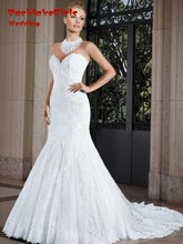 Custom Made Wedding Gown vestido de noiva Mermaid Wedding Dresses Sexy Sweetheart 2017 Vestidos Casamento robe de mariage