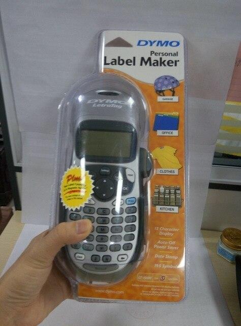 LT 100H 英語携帯型ラベルプリンタ LetraTag プラス LT 100H 21455 ハンドヘルドラボステッカーラベルプリンタ Dymo LT 100