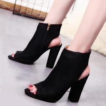 e3fd3625ea0 New Fashion Womens High Heels Casual Party Platform Pumps Peep Toe Shoes  Lady Plus Big Large Size ...