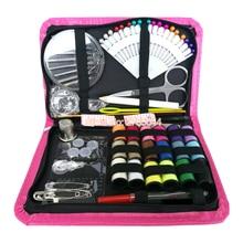 Набор для шитья, 18 наиболее полезные Цвета потоков, качества булавки и иголки-мини-путешествие швейный набор, для начинающих, аварийный