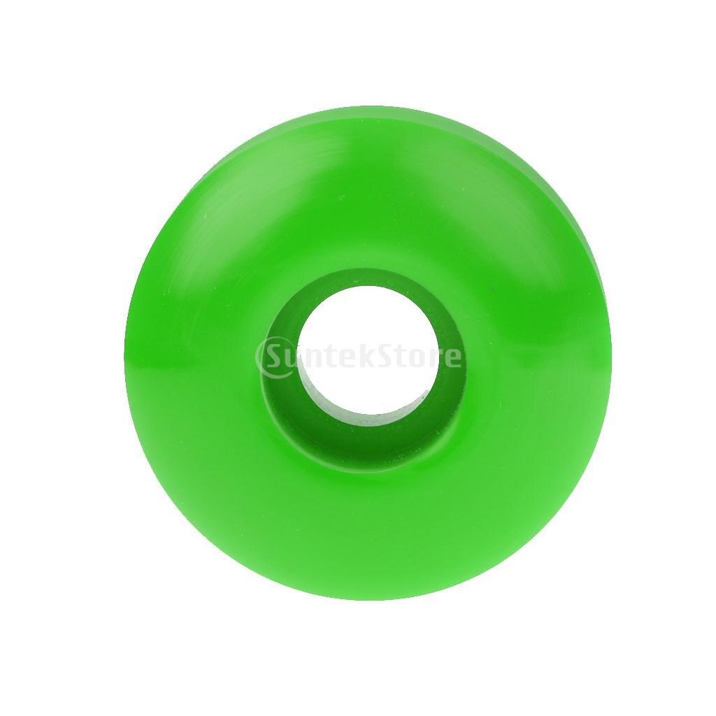 Blank 5cm x 3cm Pro Cruiser Longboard Skateboard Wheels 10 Colors
