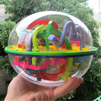 3D Magic Maze Ball 299 Closed Level Intellect Ball Children Education Intelligence Toy Christmas Gift IQ