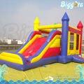 Inflatable Biggors Пользовательский Цвет Надувной Батут С Горкой Для Аренды
