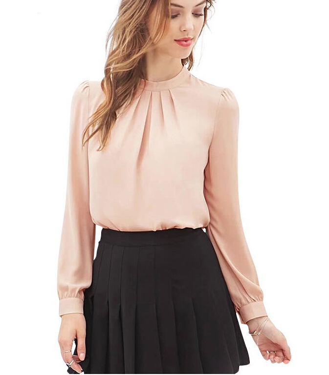 Elegante camisas para mujer blusas 2016 primavera verano