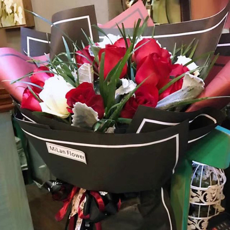 20 Sheets lot Flower Packaging Paper Florist Supplies Handmade Material Diy Bouquet Pack festival Gift Wrapping GPD867920 Sheets lot Flower Packaging Paper Florist Supplies Handmade Material Diy Bouquet Pack festival Gift Wrapping GPD8679
