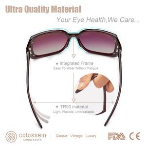 Image 5 - COLOSSEIN MSTAR サングラス女性偏光 2019 新ファッションサングラス高級段階的な光ソフトクラシック眼鏡 UV400