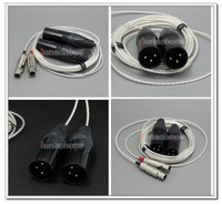 LN004724 3 Pin Male XLR PCOCC + Silver Plated 1.3m 2m 2.5m Cable Cord for Audeze LCD 3 LCD3 LCD 2 LCD2