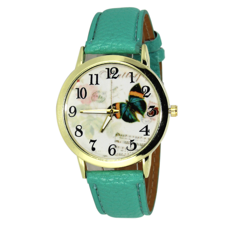 Excellent Quality Fashion Luxury Watch Leather Quartz-Watches Women Watches Clock Ladies Hour montre femme relogio feminino gift