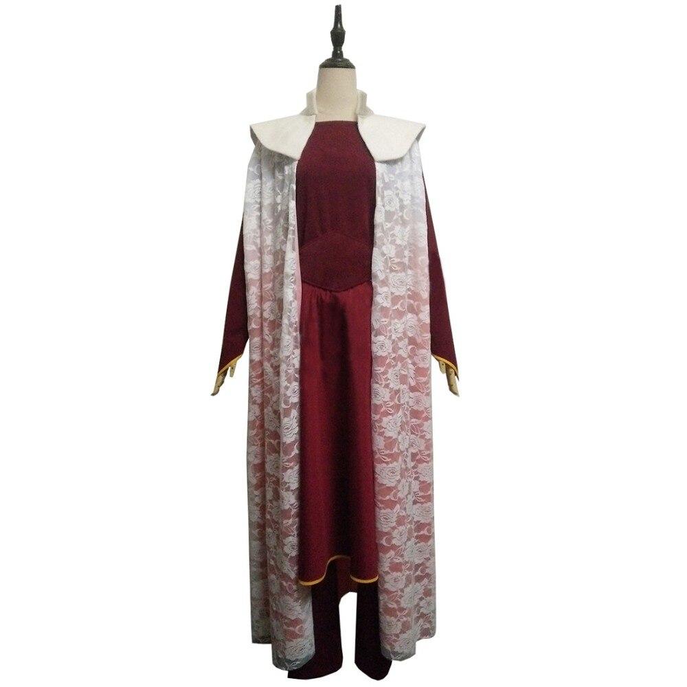 2018 New Style Star Wars Princess Leia Organa Solo Dress Cosplay Costume