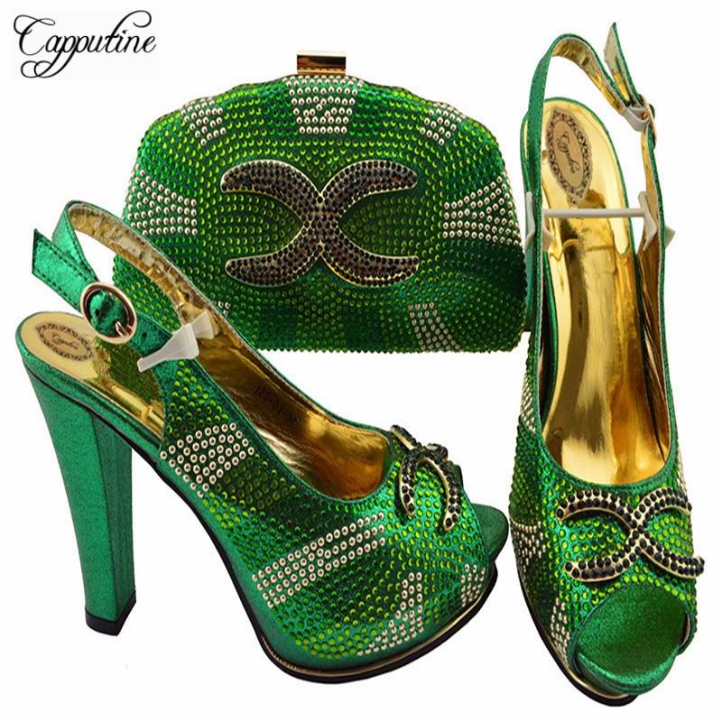 Teal Et Pour Le 03 Sac Italien Nigérian Pompes fuchsia Nouveau Mariage rouge or Capputine 2018 Ciel Ensemble Style Couleur Femme Robe Chaussures Pu Zs wpfOXXPq