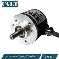 CALT GHS4006 série de leitura do pulso mecânico rotativo codificador 40mm tamanho NPN sensor de encoder linear
