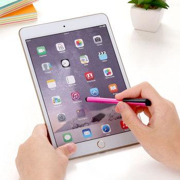 Uniwersalny 1 sztuk ekran dotykowy długopis rysik pojemnościowy dla iPad iPhone 7 8 X telefonu z systemem Android tablety PC dla Xiaomi Huawei pióro dotykowe tanie i dobre opinie Touch Screen Pen Z tworzywa sztucznego Apple iphone SZKOSTON random color For Iphone 8 7 7s 4 4S 5s 5 5c 6s 8 6 Plus 7 Plus