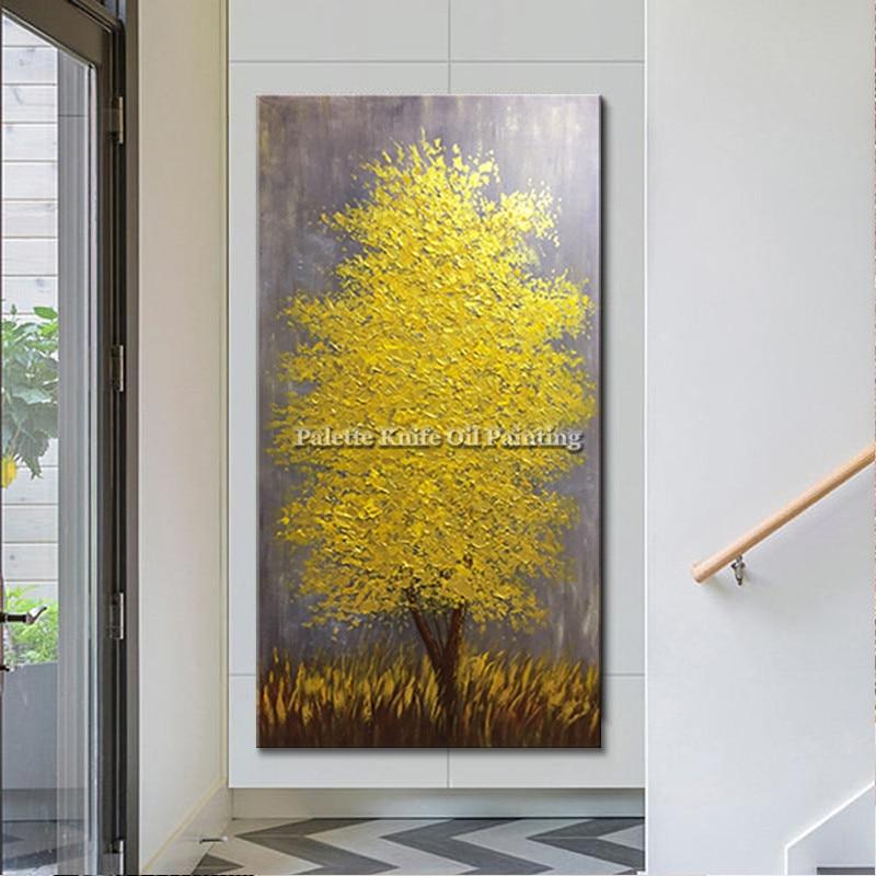 Obraz olejny na płótnie cuadros decoracion szpachla 3D tekstura - Wystrój domu - Zdjęcie 3